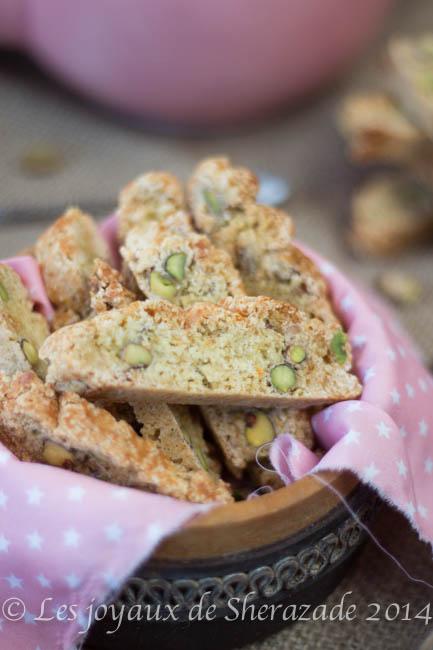 Recette de croquant aux pistaches