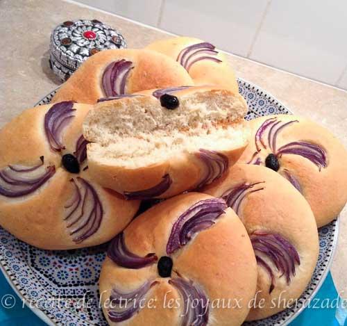pain aux oignons