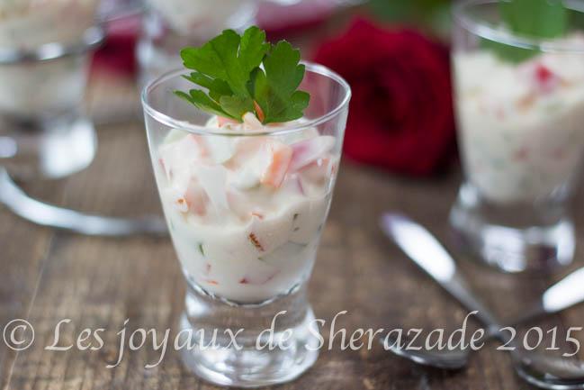 Verrine ap ritif pour entr e froide les joyaux de sherazade for Entrees froides rapides