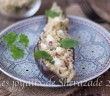 Chermoula d'aubergines rôtie au couscous et au reblochon