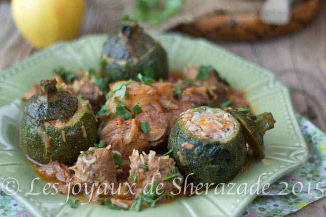 dolma courgettes