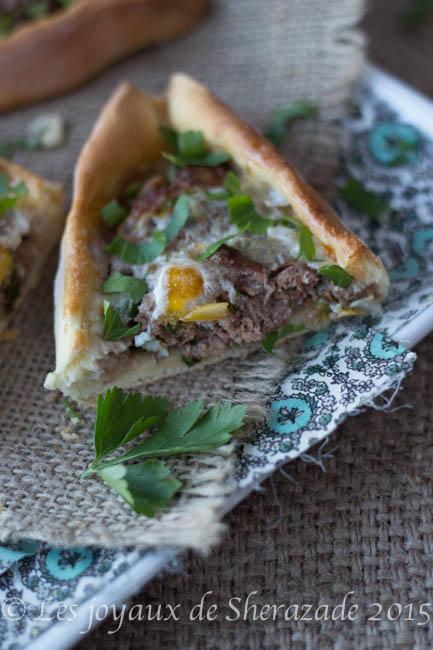 recette de pizza turque
