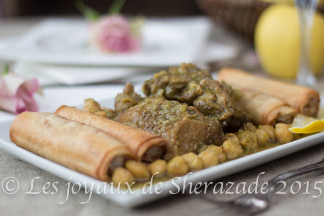Mghellef fi ghllafou cuisine algérienne