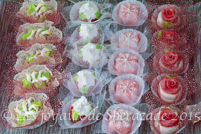 gâteau algérien pour mariage