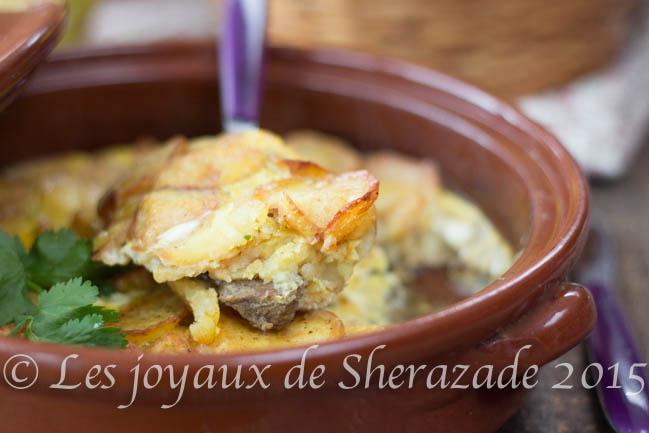 Mderbel de pommes de terre, cuisine algérienne