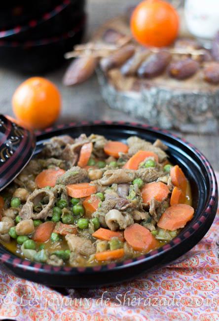 cuisine algérienne, recette de tripes