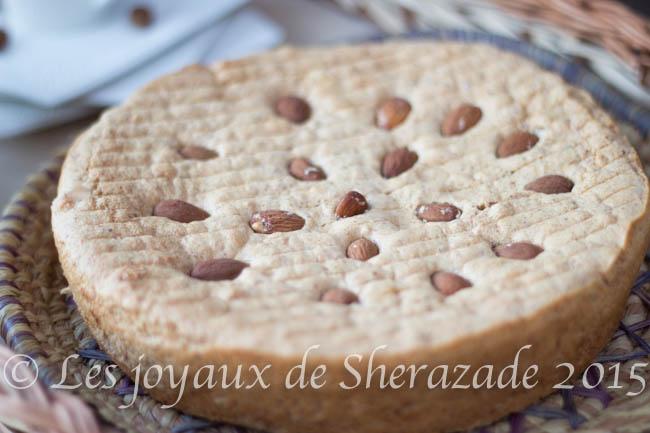 gâteau algérien aux amandes