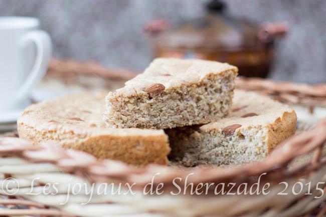 Gâteau aux amandes moelleux
