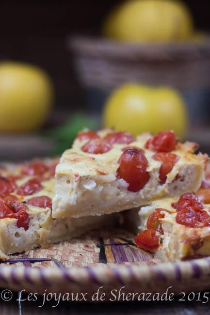 tarte aux tomates facile