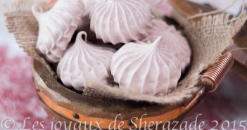 Petites meringues au chocolat