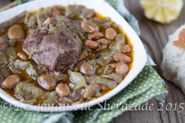 recette algérienne aux fèves