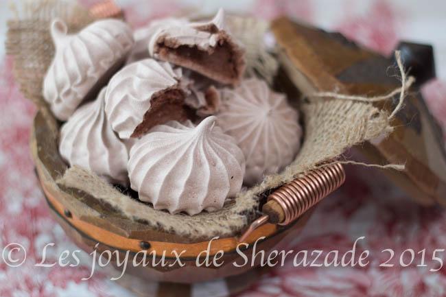 meringue au chocolat