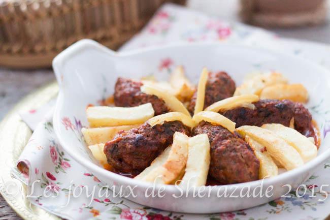 tajine merguez / cuisine tunisienne