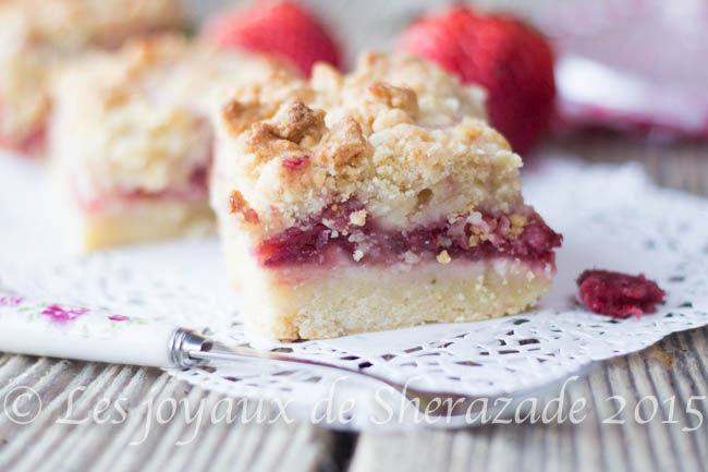 gâteau aux fraises facile, rapide