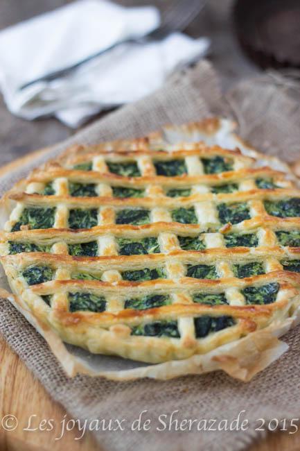 tarte aux épinards ricotta facile