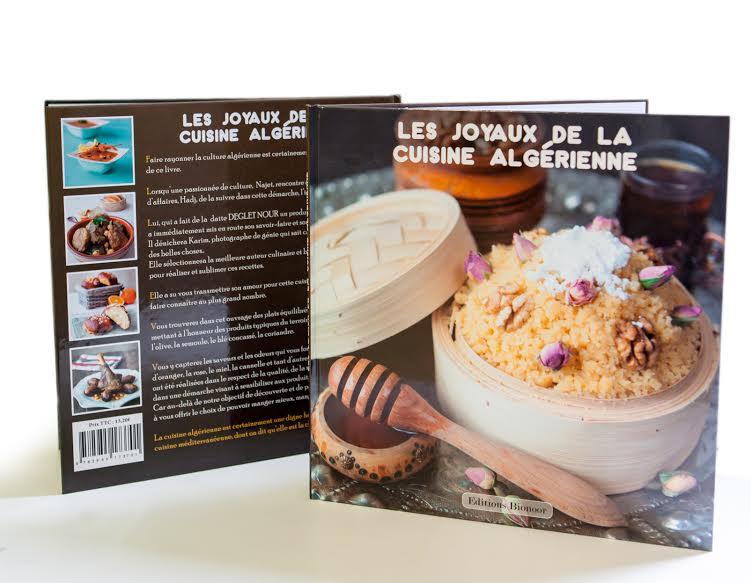 La sortie de mon livre: les joyaux de la cuisine algérienne