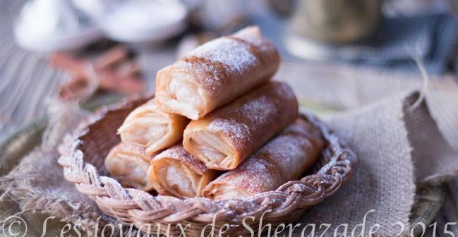 dessert pour ramadan 2015: cigares au riz