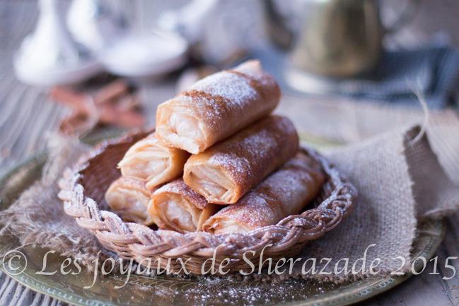 Dessert pour ramadan 2015 : cigares au riz