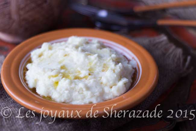 ayerni, purée de pommes de terre algérienne