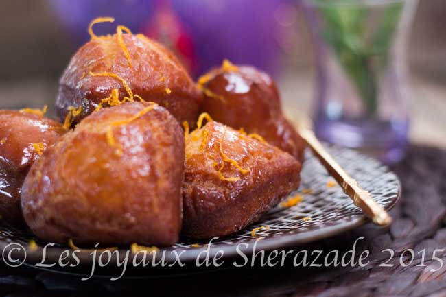 recette de beignet au miel