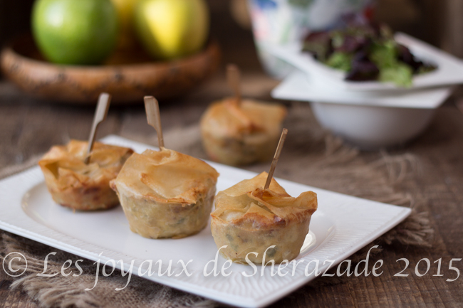 Mini pastilla au thon, recette ramadan 2015