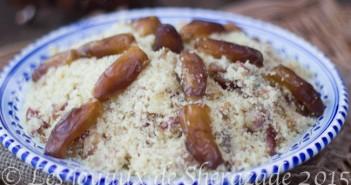 couscous algérien aux dattes