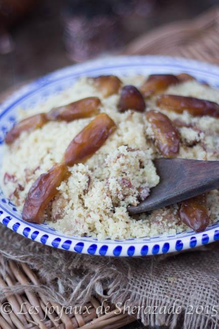 recette de couscous aux dattes
