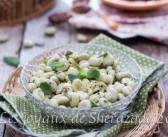 salade de fèves fraiches au citron confit