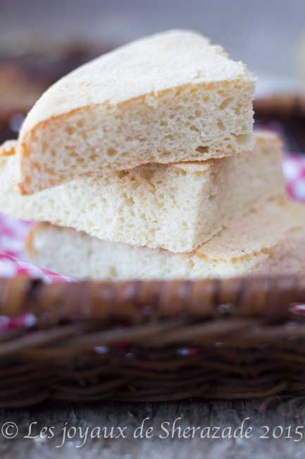 pain algérien au four