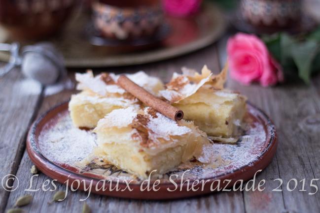 Bougatsa : dessert à la semoule