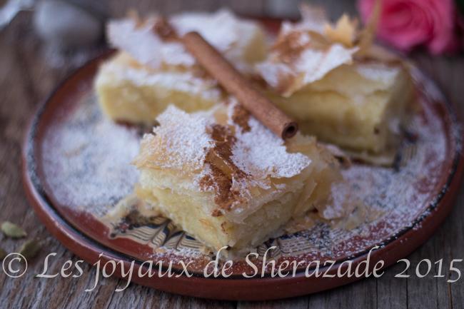 dessert à la pâte phyllo