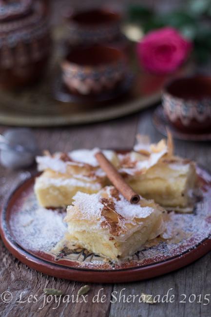 dessert à la semoule