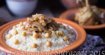 couscous au poulet ay raisins secs de tlemcen