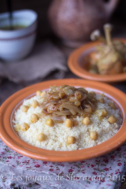 couscous au poulet de tlemcen
