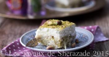 dessert grec au kataif