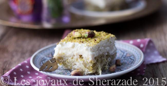 dessert grec au kataïf