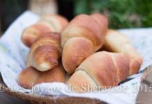 pain ultra moelleux en croissant