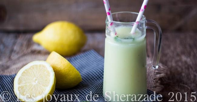 Recette de citronnade maison à la menthe