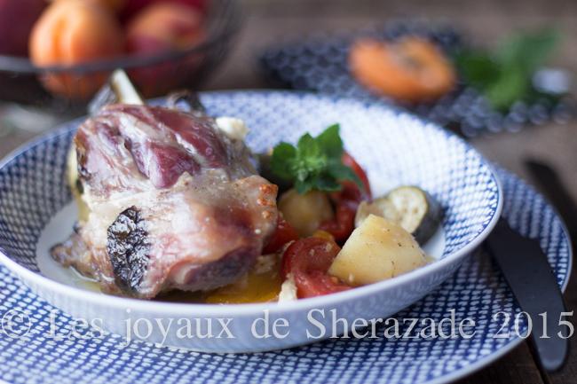 Kleftiko d'agneau, recette grecque