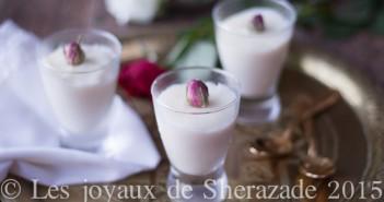 mhalbi: crème dessert au riz
