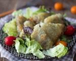 samoussas au poulet et au curry sans gluten
