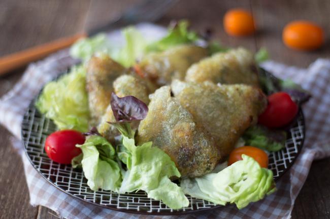 Samoussas au poulet au curry sans gluten