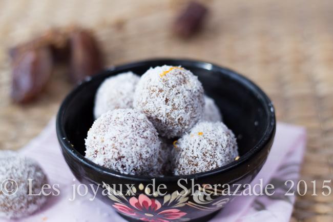 boule dattes noix de coco
