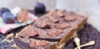tarte au chocolat aux figues
