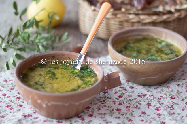 Harira de Béchar ( cuisine algérienne )