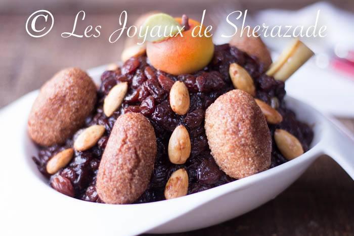 tajine aux raisins secs
