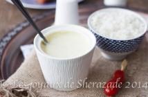 sauce blanche pour riz
