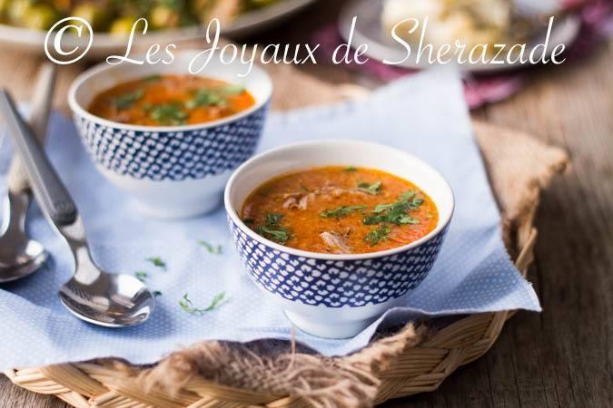 Soupe pour ramadan 2017, harira et chorba..
