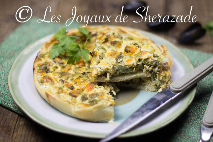 Quiche aux moules facile