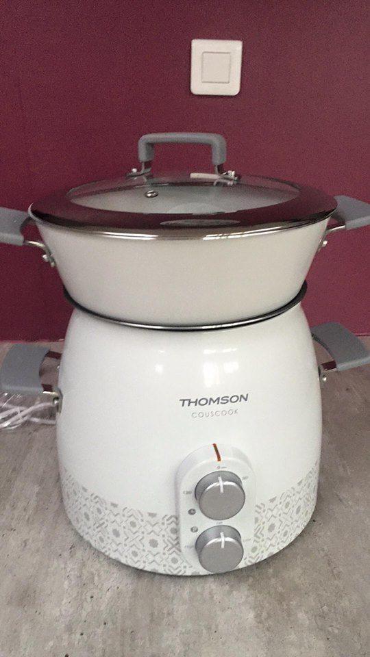 Concours : je cuisine avec le couscoussier avec Thomson